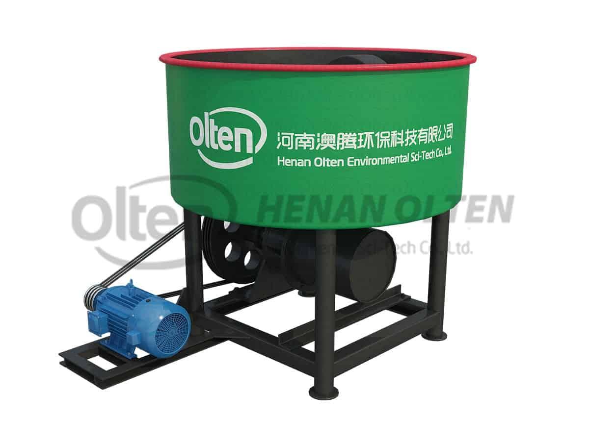 wheel mill mixer